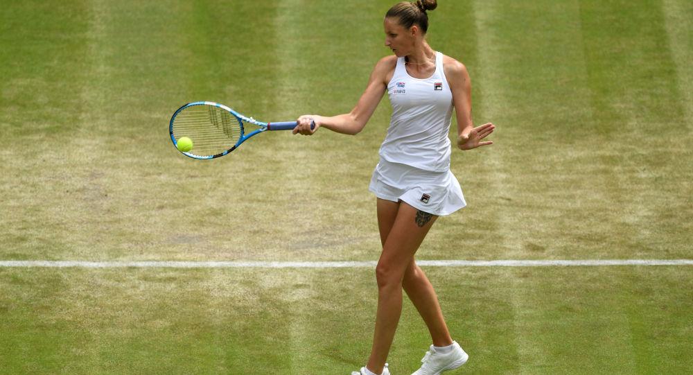 Karolína Plíšková na Wimbledonu