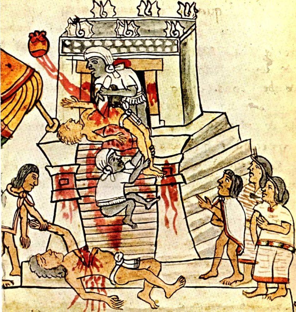 Aztécký obětní obřad