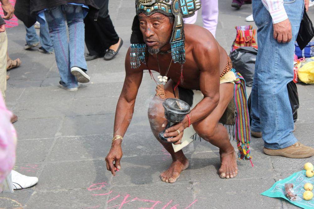Moderní potomek Aztéků