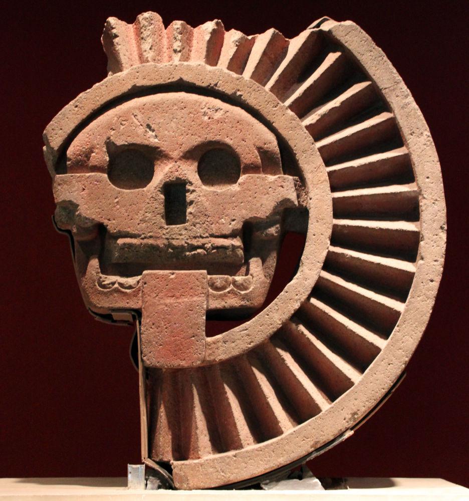 Aztécký bůh mrtvých Miktlantekutli
