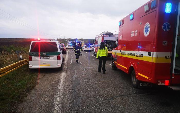 Nehoda na Slovensku u Nitry