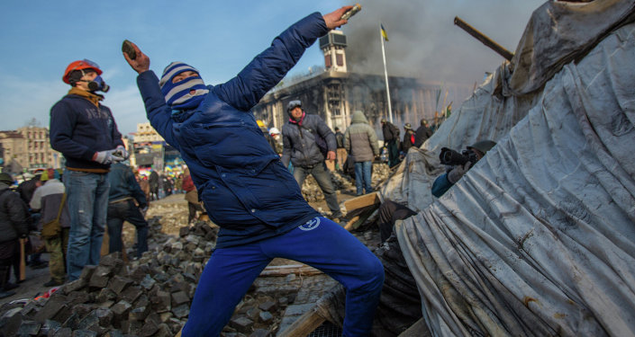 Majdan, Kyjev
