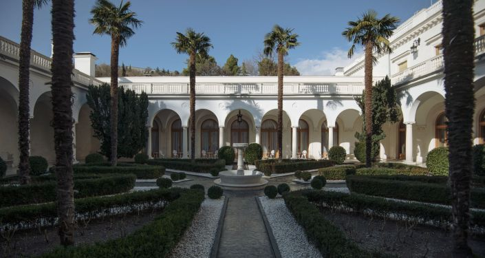 Italský dvorek v Livadijském paláci