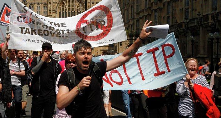 Protest proti TTIP
