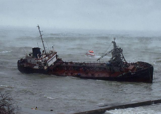 katastrofa tankeru Delfi
