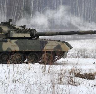 Ruský tank T-80