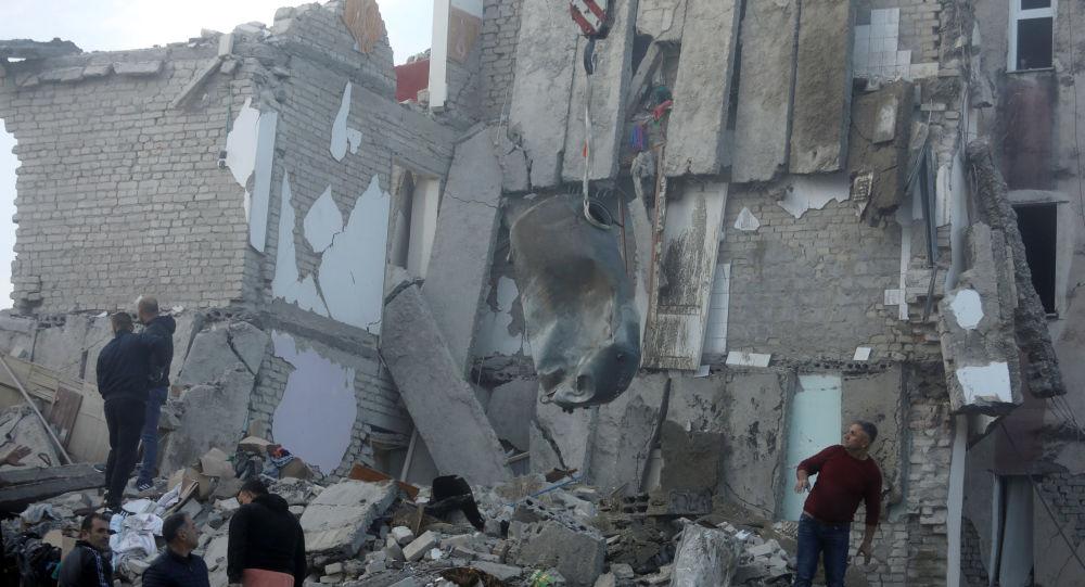 Následky zemětřesní v Albánii (26. listopadu 2019)