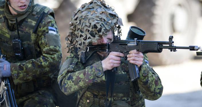 Cvičení NATO v Estonsku