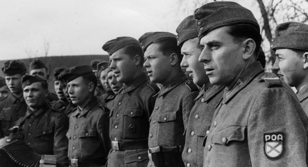 Vojáci Ruské osvobozenecké armády ROA