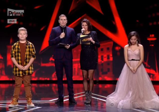 Televizní show Česko Slovensko má talent