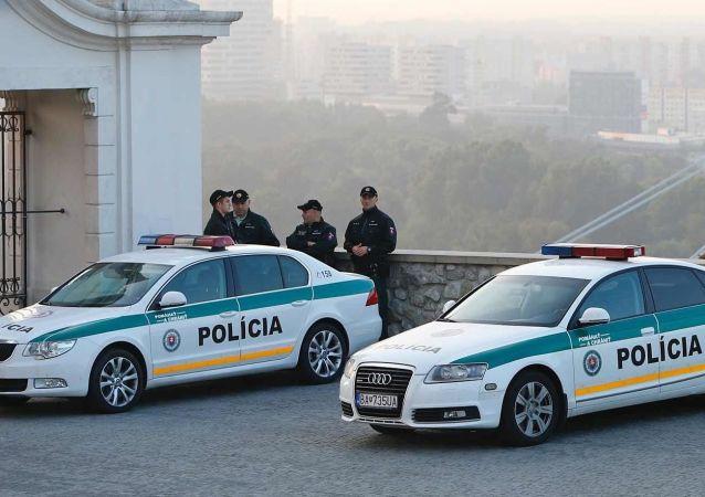 Slovenská policie. Bratislava