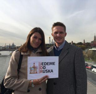 Ondra a Lucka. Jedeme do Ruska