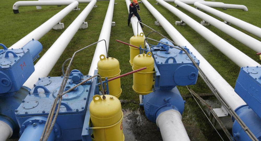 Plynová stanice u Lvova