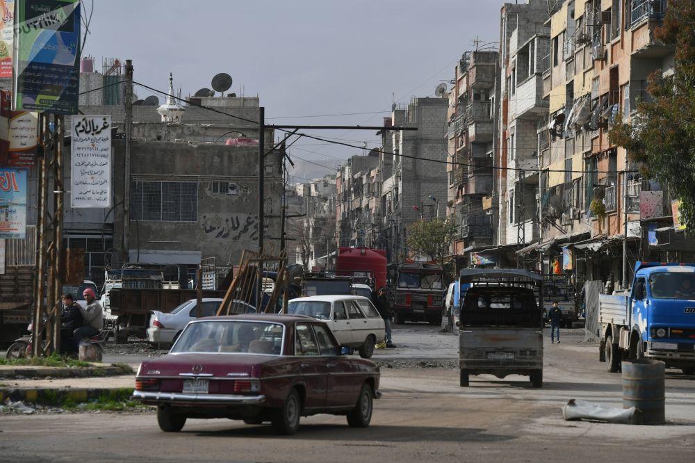 Centrum města Dúmá, Sýrie