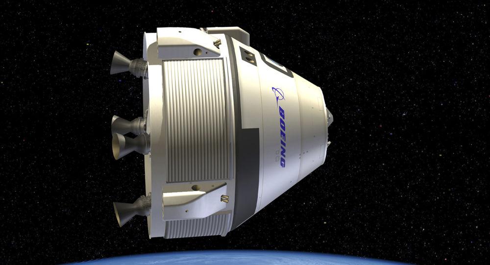 Kosmická loď Starliner společnosti Boeing