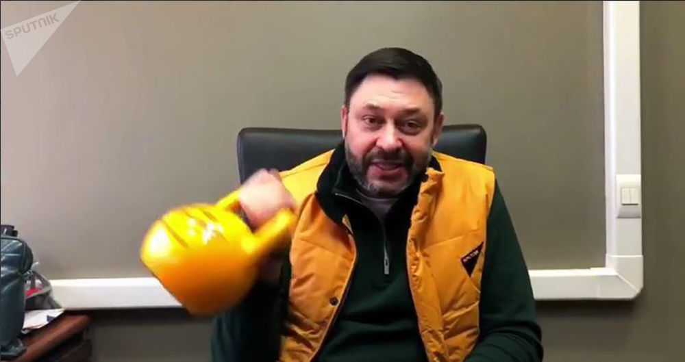 Kirill Vyšinský, výkonný ředitel MIA Rossia Segodnia, během akce #SputnikSíla