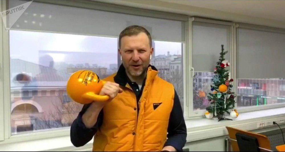 Ředitel pro komunikaci agentury Rusko dnes Petr Lidov