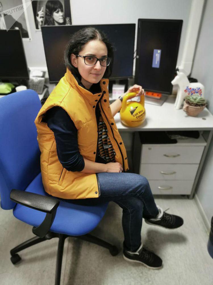 Zaměstnankyně Sputniku během akce #SputnikSíla