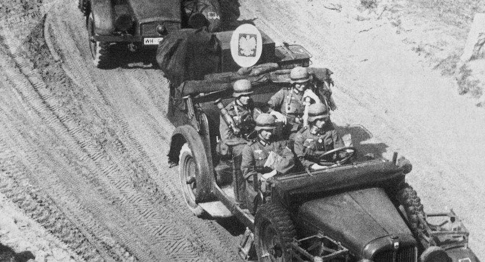 Německá vojska vtrhla na polské území, 1. září 1939