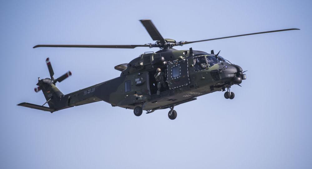 Vrtulník NH90 Bundeswehru