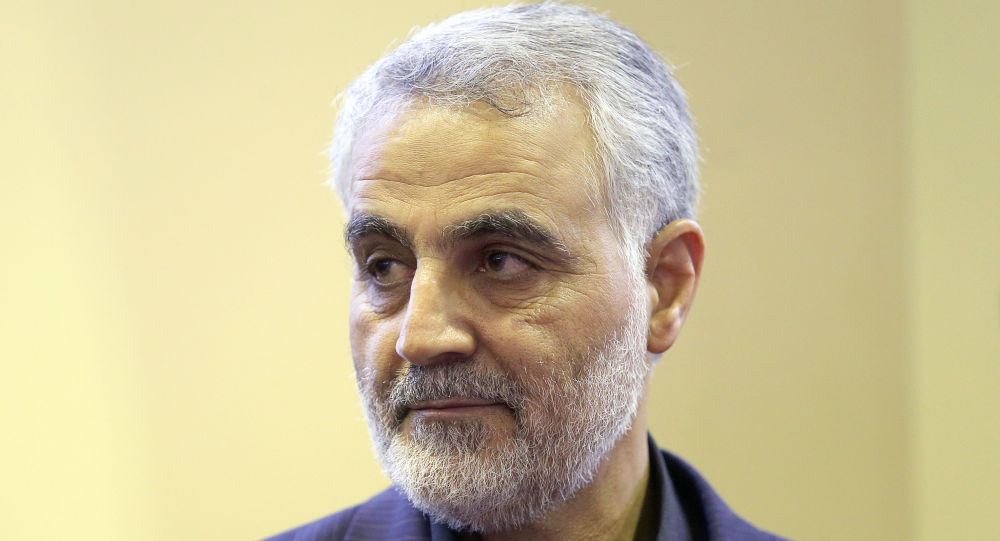 Íránský generál Kásim Sulejmání