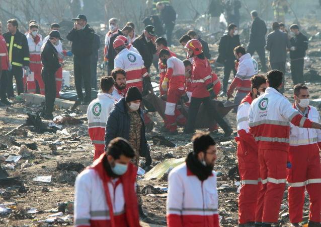 Katastrofa ukrajinského letadla Boeing 737-800