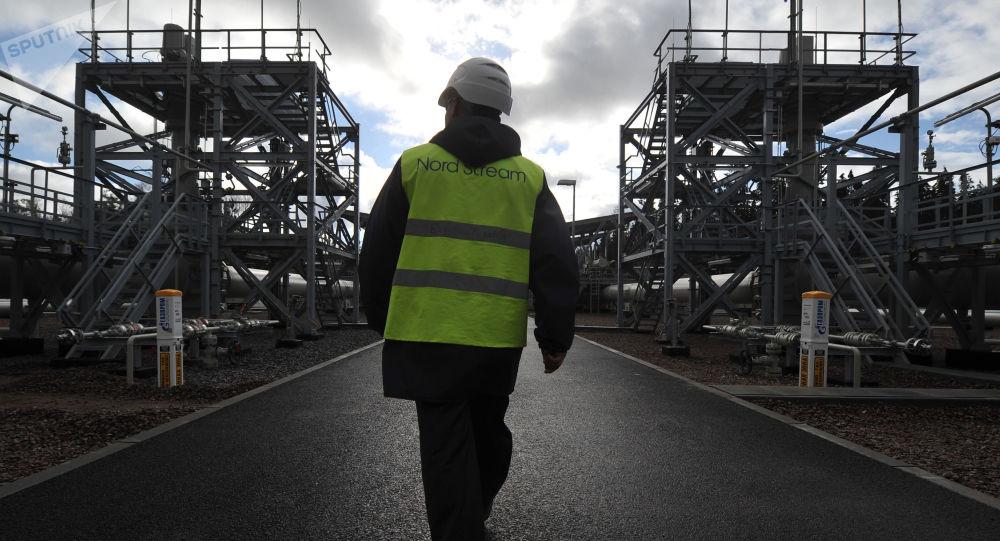 V areálu kompresorové stanice Portovaya, kde byla spuštěna do provozu druhá větev plynovodu Nord Stream