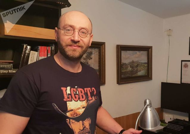 Český sociolog Petr Hampl