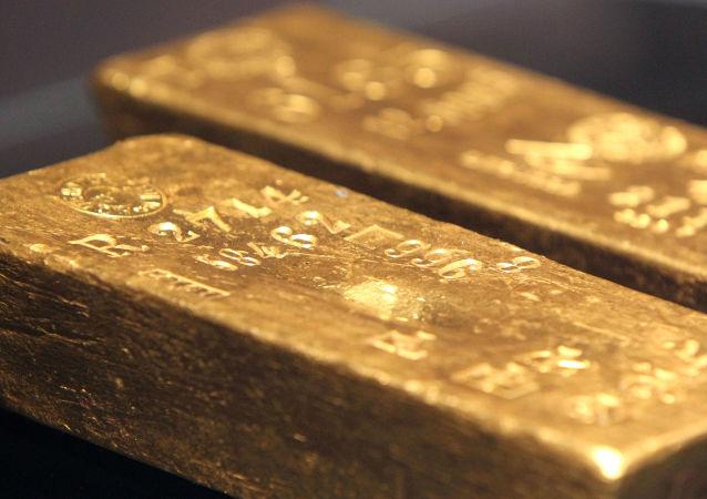 Zlaté cihly. Ilustrační foto