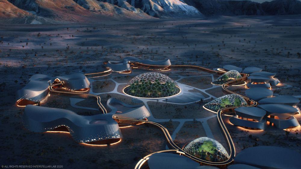 Projekt Experimentální bioregenerační stanice (EBIOS), která je určena pro život na Marsu