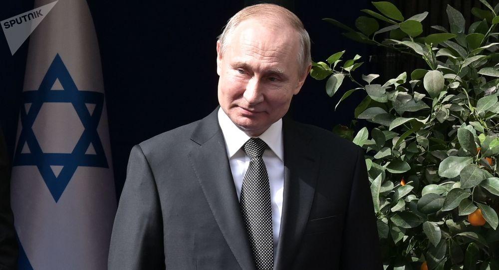 Ruský prezident Vladimir Putin vJeruzalémě