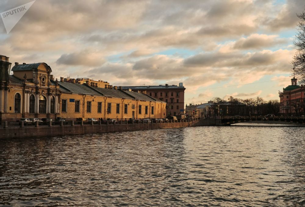 Pobřeží řeky Fontanky