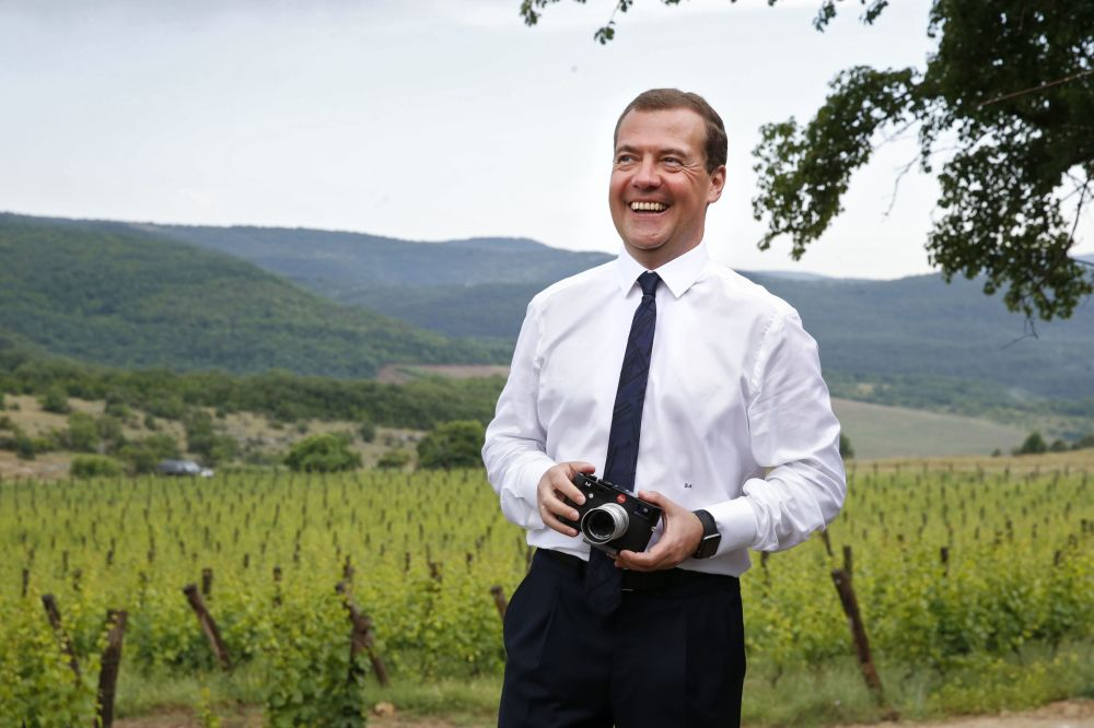 15. června 2015 – Premiér v okolí Jalty