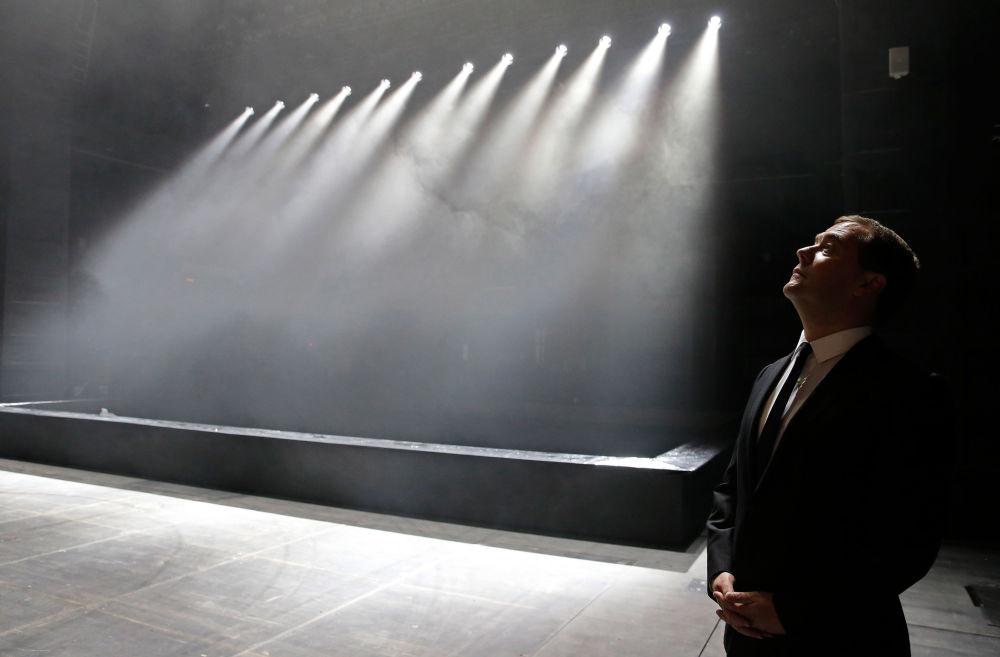 26. září 2014 – Ve Velkém činoherním divadle v Petrohradu po rekonstrukci