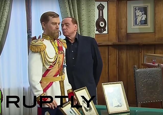 Exkurze na Krym s Putinem a Berlusconim