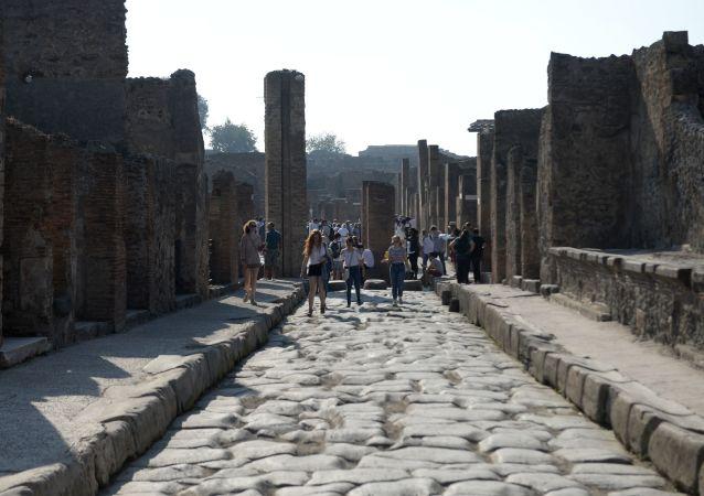 Ruiny Pompejí - muzea pod širým nebem