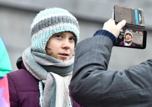 Ekologická aktivistka Greta Thunbergová