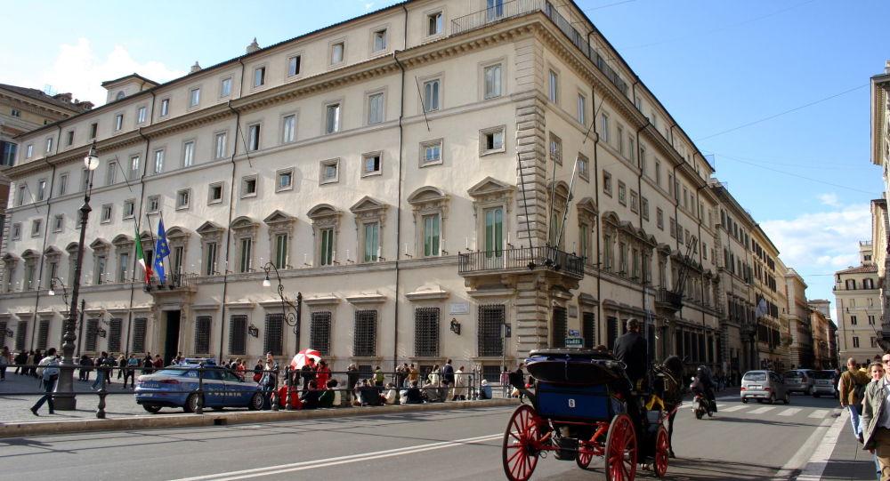 Palazzo Chigi, rezidence italského předsedy vlády