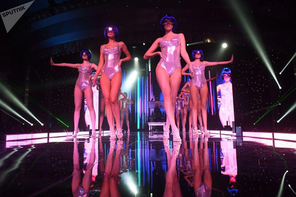 """Účastníci soutěže krásy """"Miss Tatarstan-2020"""" v Kazani"""