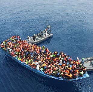 Záchrana migrantů