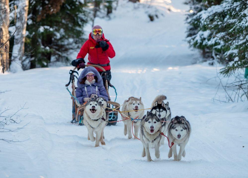 Zimní dovolená v Karelské republice