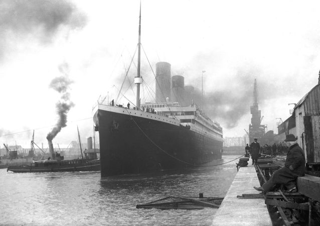 Titanik před vyplutím