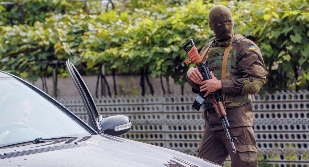 Ukrajinský vojenský příslušník