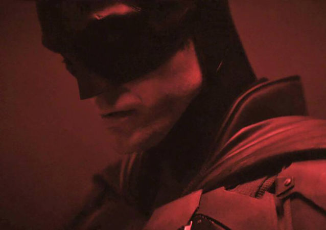 Robert Pattinson v kostýmu Batmana