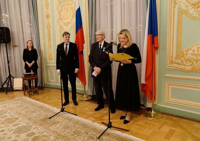 Český skladatel ruského původu Vadim Petrov vyznamenán ruským Řádem přátelství