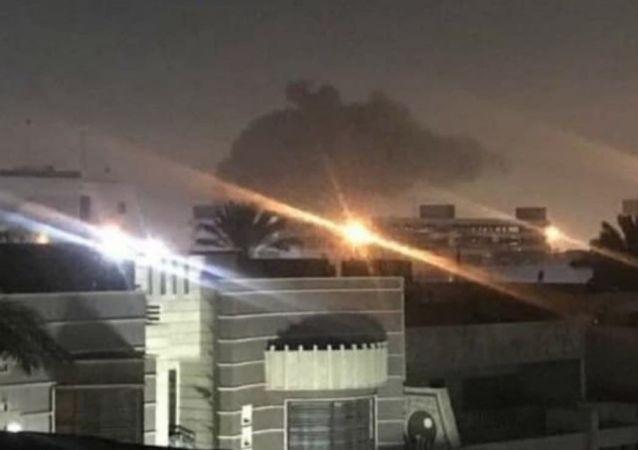 Rakety padly poblíž amerického velvyslanectví v Iráku 16. února 2020