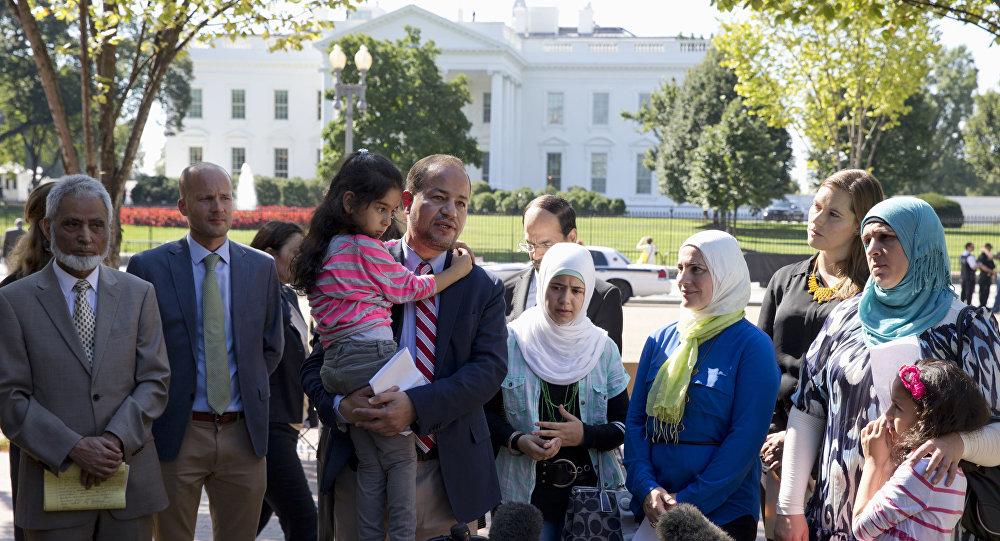 Syrští uprchlíci ve Washingtonu