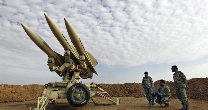 Íránské rakety. Ilustrační foto