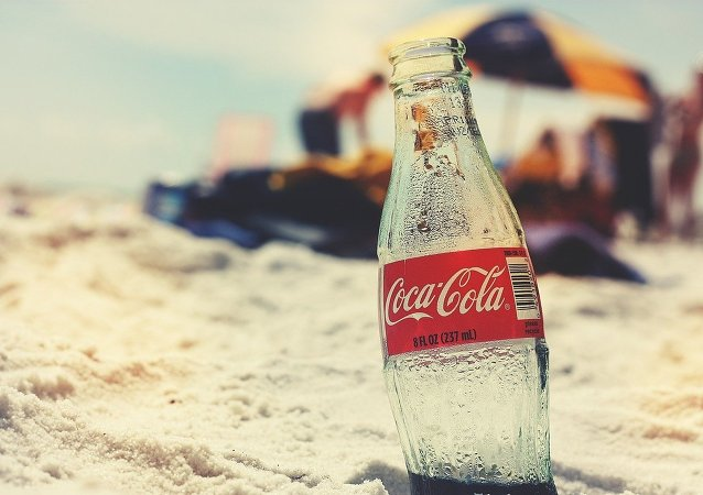 Láhev Coca-Coly