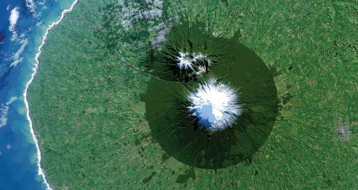 Národní park Egmont v Novém Zelandu